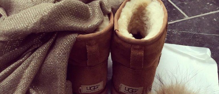 Угги: удобная, тёплая и модная обувь