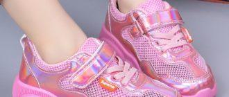 Кроссовки для девочек: фото