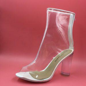 обувь из прозрачного нейлона