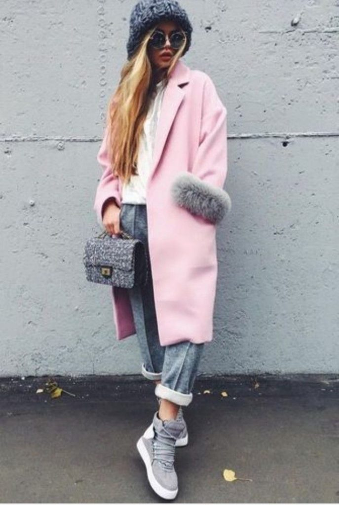 Модные луки с высокими кедами