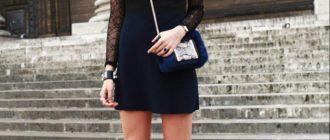 С чем носить чёрные сапоги