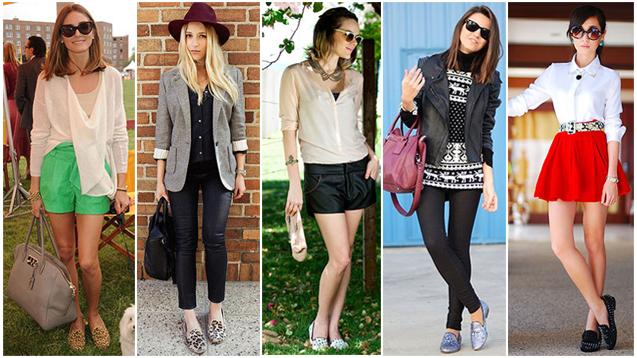 С чем носить женские слиперы: фото