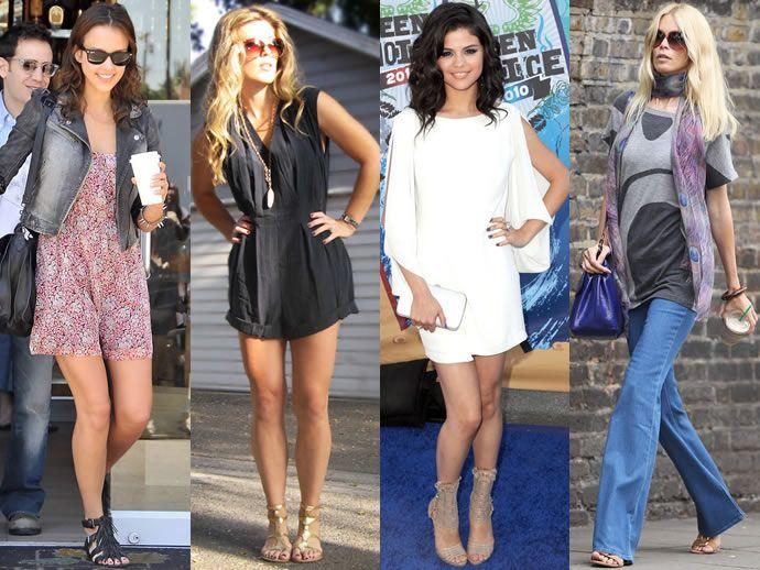 С чем носить женские сандалии