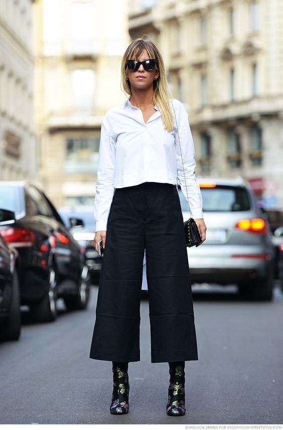 Как носить брюки с сапогами