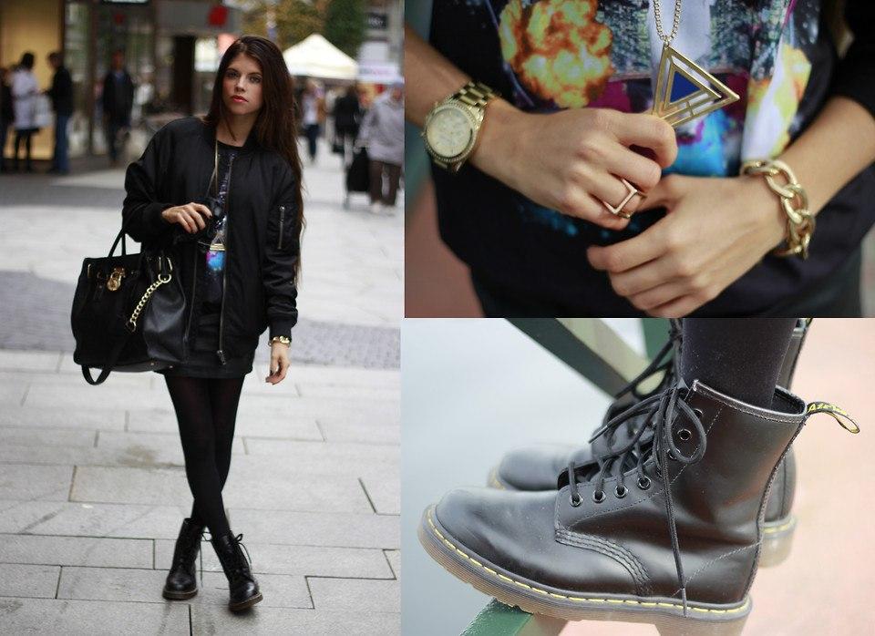 С чем носить грубые ботинки