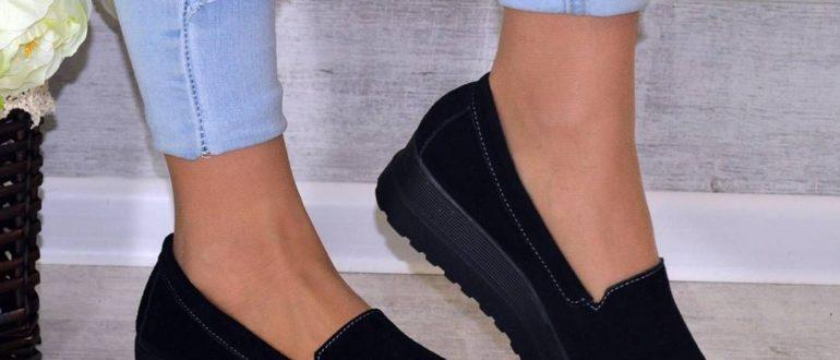 Модные женские слипоны 2019: фото
