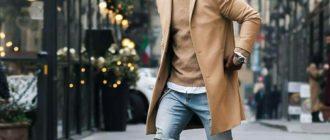 С чем носить мужские челси