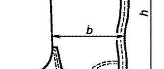 Как измерить высоту голенища сапога: фото