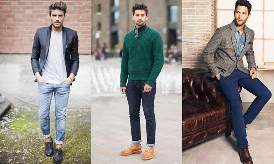 С чем носить мужские броги