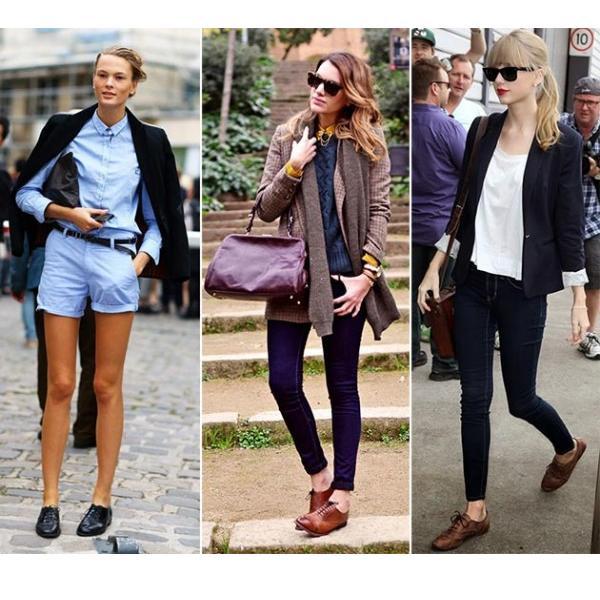 С чем носить женские броги