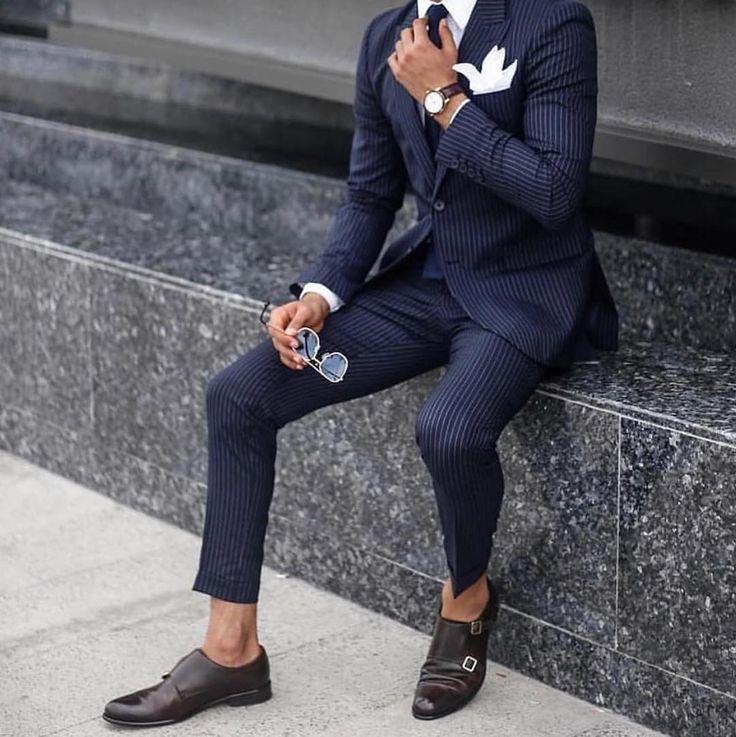 Мужские туфли под костюм