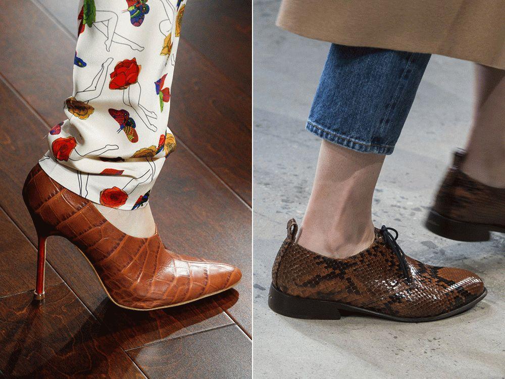 Женские туфли 2019 для осени
