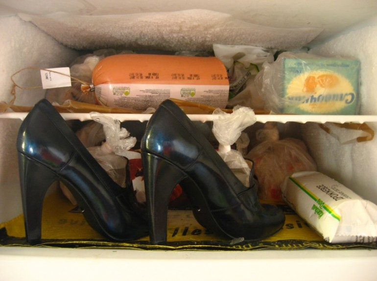 Как разносить туфли-лодочки