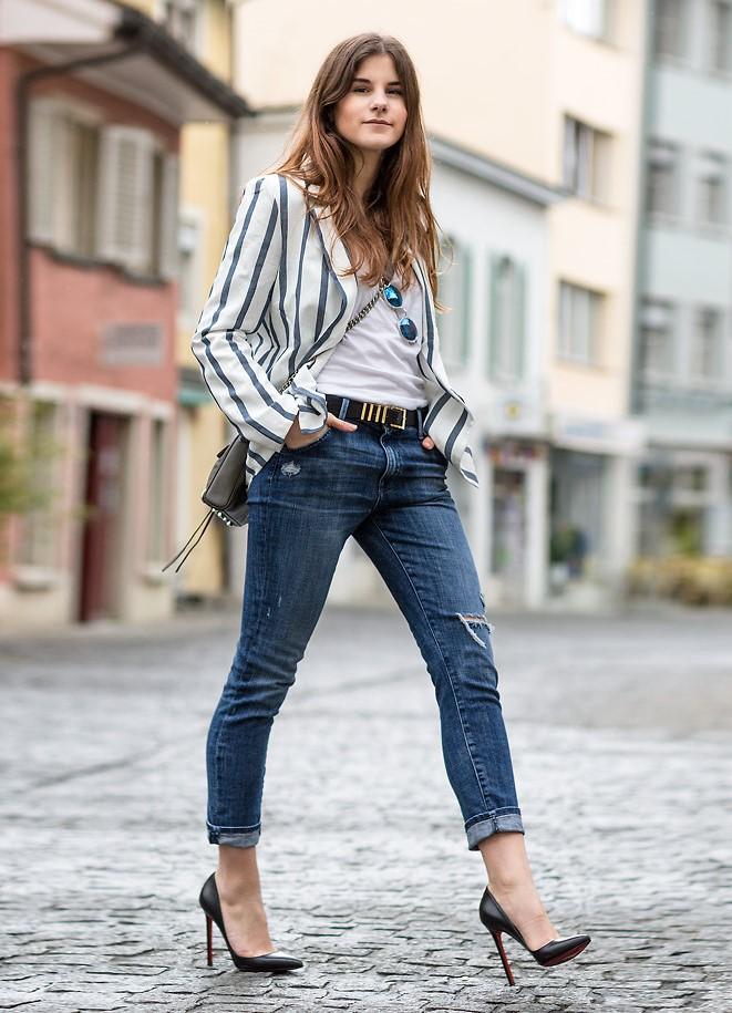 Туфли под женские джинсы
