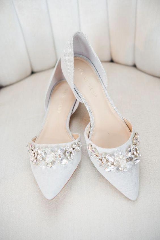 Свадебные туфли 2019