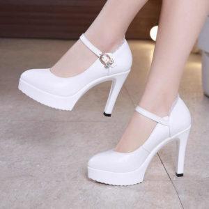 Женские туфли на каблуке 2019