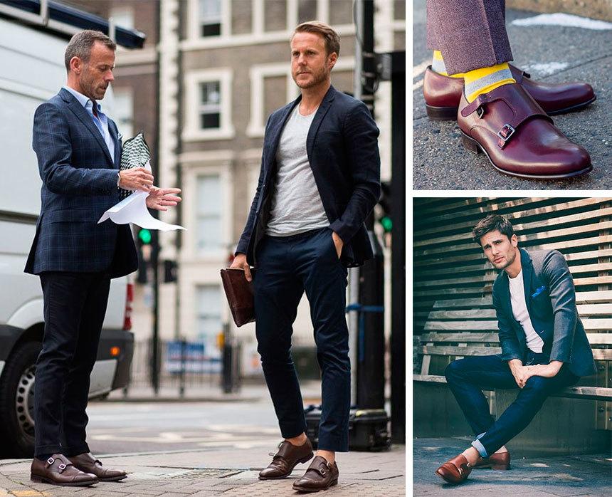 Модные мужские туфли 2019