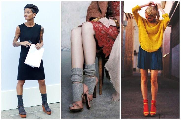 Лайфхак: как надеть укороченные носки под туфли