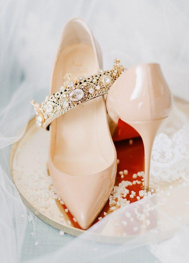 Самые красивые свадебные туфли