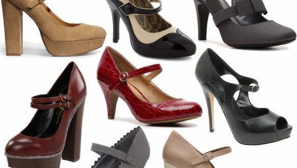Виды женских туфель
