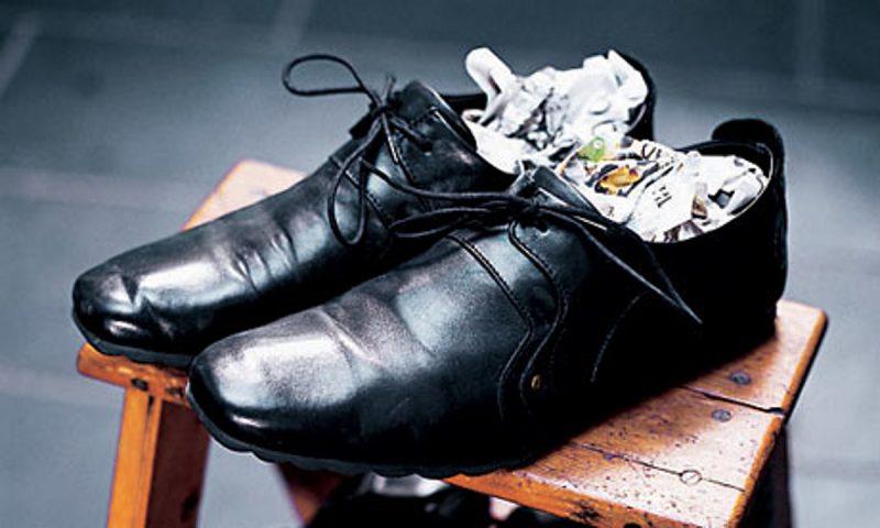 Как растянуть кожаные ботинки