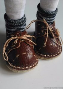 Как сделать туфли для куклы