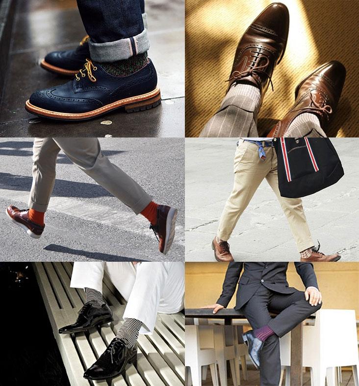 Как носить носки с ботинками