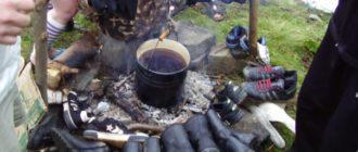 Как высушить резиновые сапоги в походе