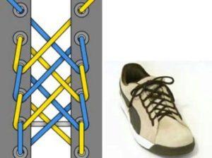 Как зашнуровать кроссовки Фила