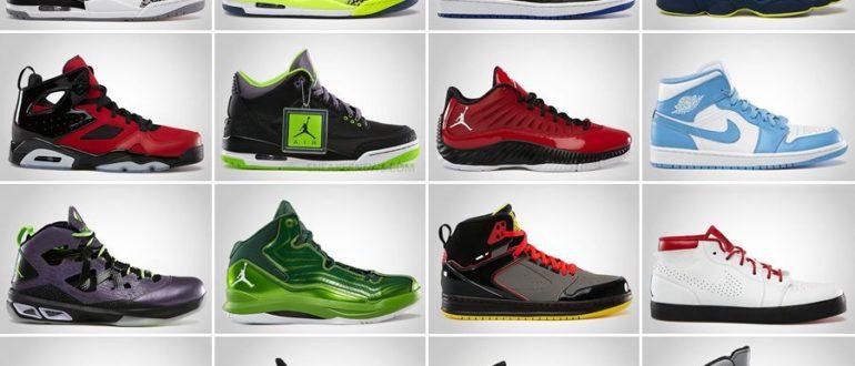 Популярные фирмы кроссовок