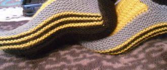 Вязание спицами тапочек-носков с узорами